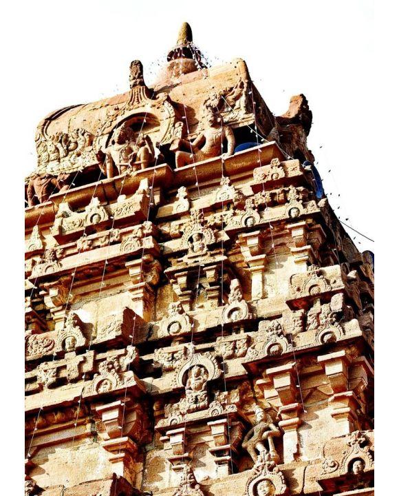 Lais Puzzle - Ein alter Tempel in Kurnool, AP Indien - 500 & 1.000 Teile