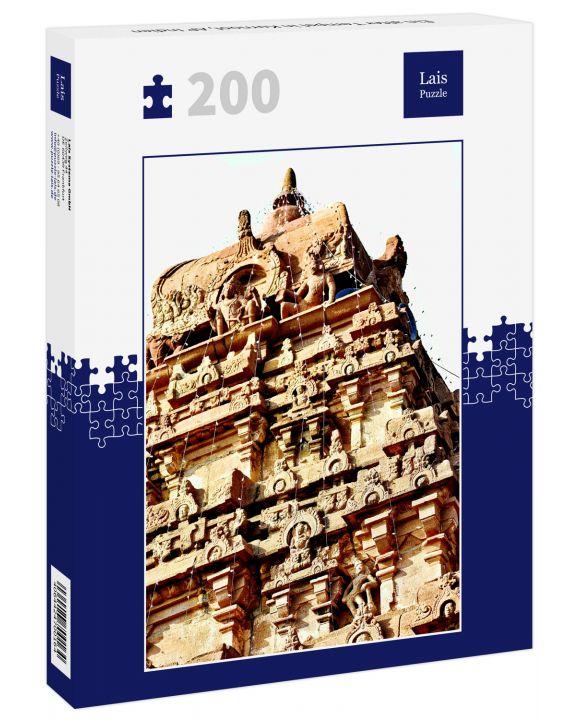 Lais Puzzle - Ein alter Tempel in Kurnool, AP Indien - 200 Teile