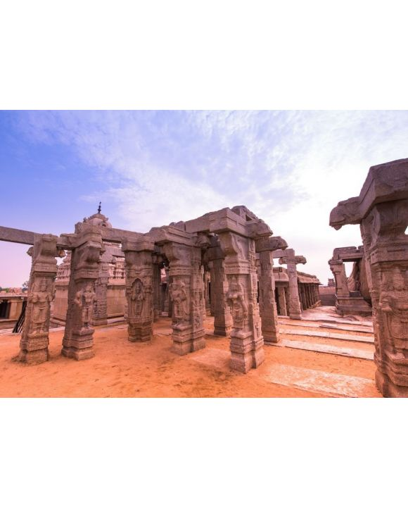 Lais Puzzle - Lepakshi hinduistischer Tempelkomplex, Indien - 500 & 1.000 Teile