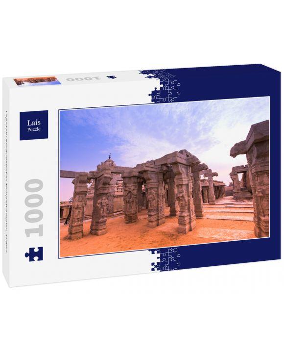 Lais Puzzle - Lepakshi hinduistischer Tempelkomplex, Indien - 1.000 Teile