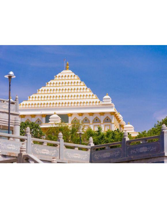 Lais Puzzle - Blick auf das schöne indische Gebäude, Puttaparthi, Andhra Pradesh, Indien - 500 & 1.000 Teile