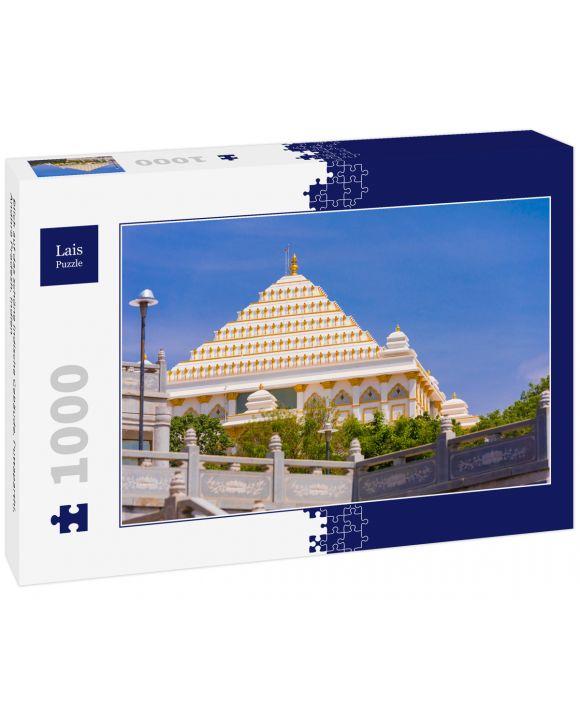Lais Puzzle - Blick auf das schöne indische Gebäude, Puttaparthi, Andhra Pradesh, Indien - 1.000 Teile