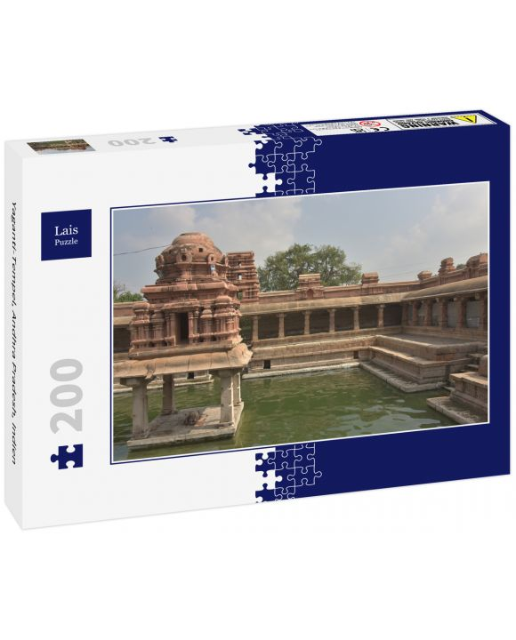 Lais Puzzle - Yaganti-Tempel, Andhra Pradesh, Indien - 200 Teile