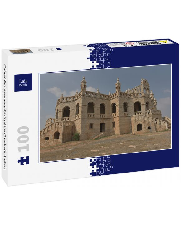 Lais Puzzle - Palast Banaganapalli, Andhra Pradesh, Indien - 100 Teile