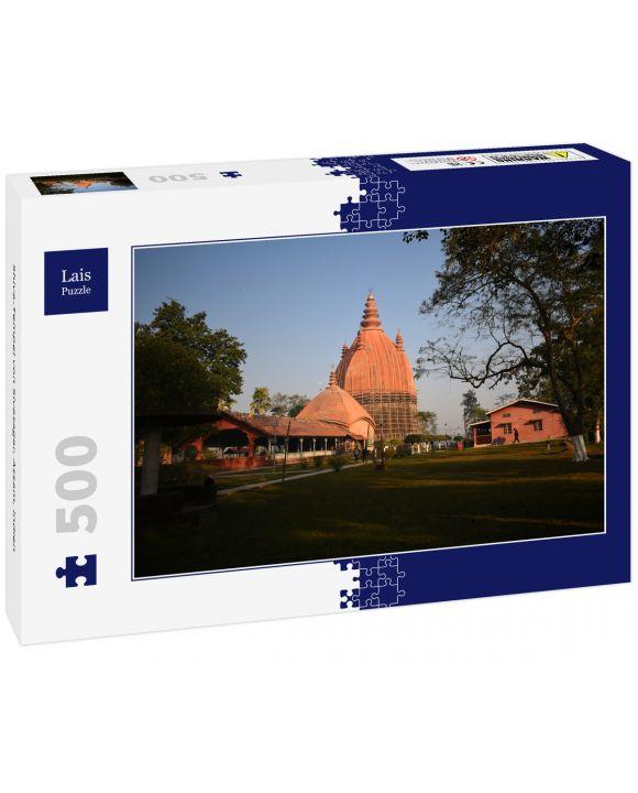 Lais Puzzle - Shiva-Tempel von Sivasagar, Assam, Indien - 500 Teile