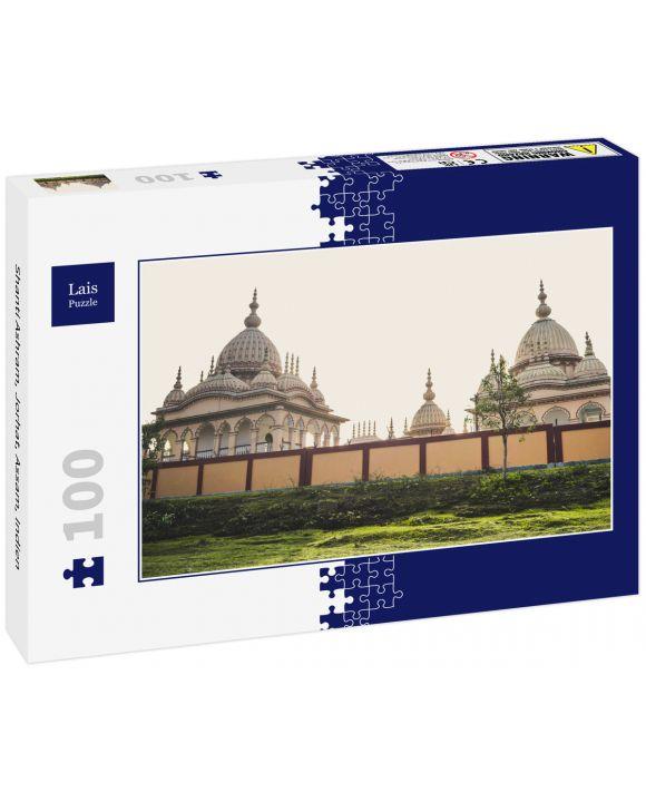 Lais Puzzle - Shanti Ashram, Jorhat, Assam, Indien - 100 Teile
