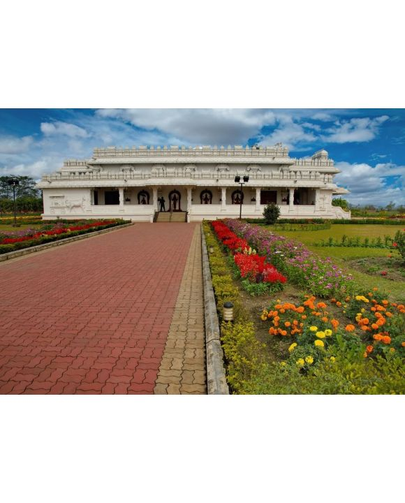 Lais Puzzle - Ostindien, Bundesstaat Assam, der Tempel von Tirupati Balaji Mandir ist zehn Kilometer von der Stadt Guwahati, Indien - 500 & 1.000 Teile