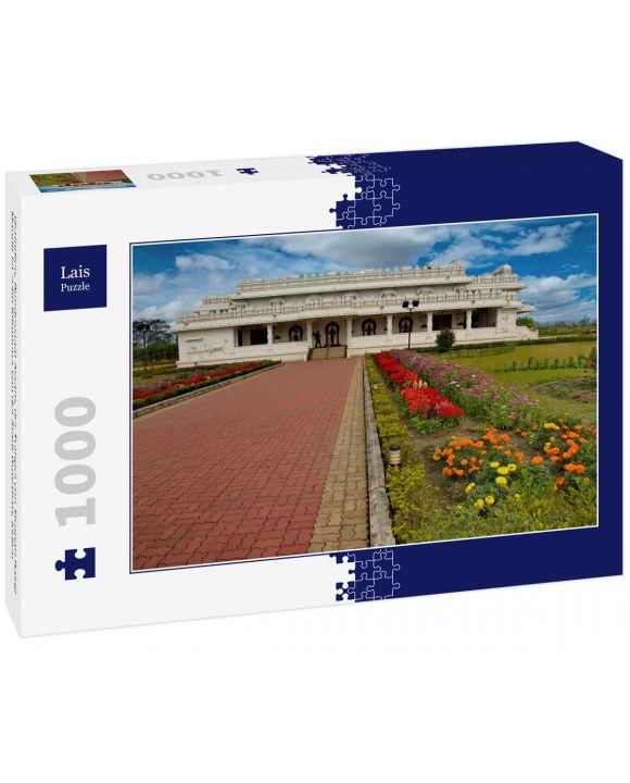 Lais Puzzle - Ostindien, Bundesstaat Assam, der Tempel von Tirupati Balaji Mandir ist zehn Kilometer von der Stadt Guwahati, Indien - 1.000 Teile