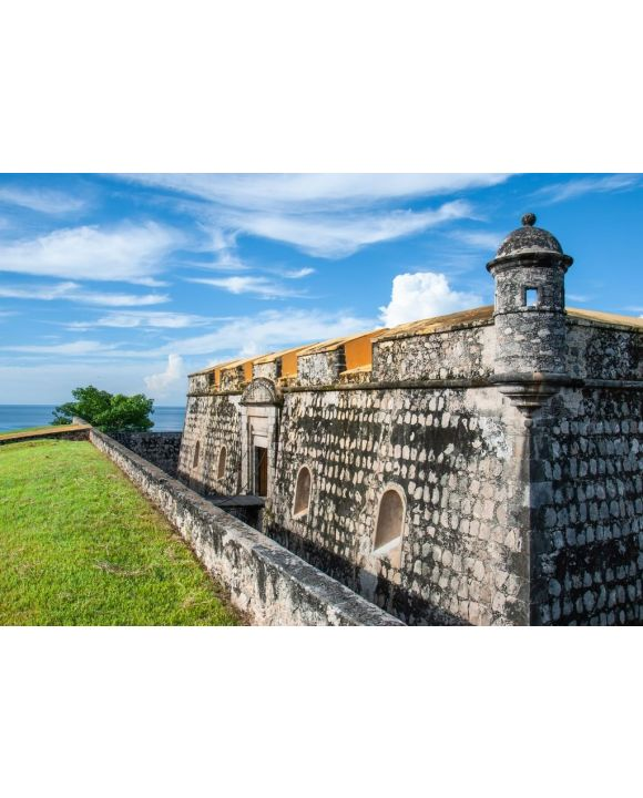 Lais Puzzle - Bollwerk von Fuerte de San Miguel in Campeche Mexiko - 500 & 1.000 Teile
