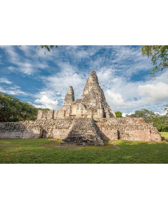 Lais Puzzle - Ruinen von Xpujil, Yucatan, Mexiko - 500 & 1.000 Teile