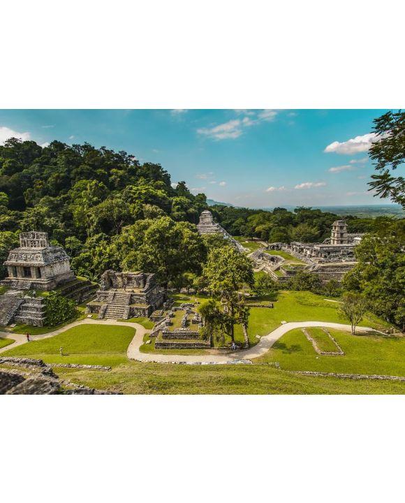 Lais Puzzle - Antike Maya aus Palenque, Chiapas - Mexiko - 500 & 1.000 Teile