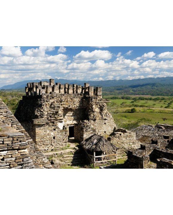 Lais Puzzle - Tonina Maya-Ruinen in Mexiko - 500 & 1.000 Teile