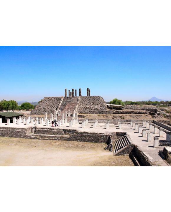 Lais Puzzle - Toltec Atlantes, Tula de Allende, Bundesstaat Hidalgo, Mexiko - 500 & 1.000 Teile