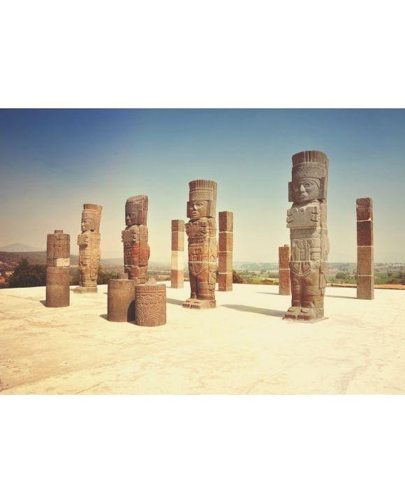 Lais Puzzle - Antike Ruinen von Tula de Allende - archäologische Stätte in Mexiko - 500 & 1.000 Teile