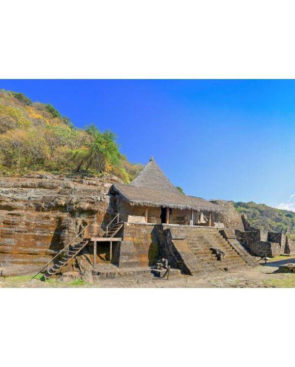 Lais Puzzle - Ruinen in Malinalco, Archäologische Stätte in Mexiko - 500 & 1.000 Teile