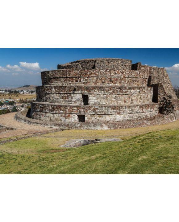 Lais Puzzle - Ruinen der alten Indianerstadt Calixtlahuaca, Mexiko - 500 & 1.000 Teile