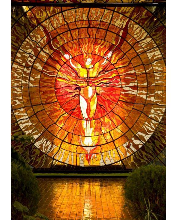 Lais Puzzle - Cosmovitral Botanischer Garten Toluca Mexiko Glasmalerei - 500 & 1.000 Teile