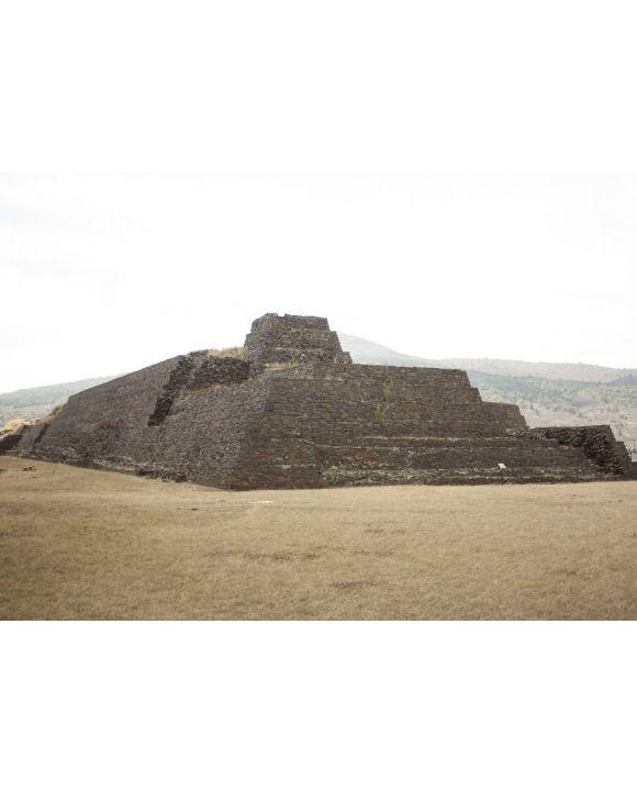Lais Puzzle - Reliquienpyramide in der Zone des Platzes der Kolibris Mexiko alte architektonische Konstruktionen aus dem Jahr 1325, die von den Vorfahren für religiöse Zeremonien genutzt wurden - 500 & 1.000 Teile