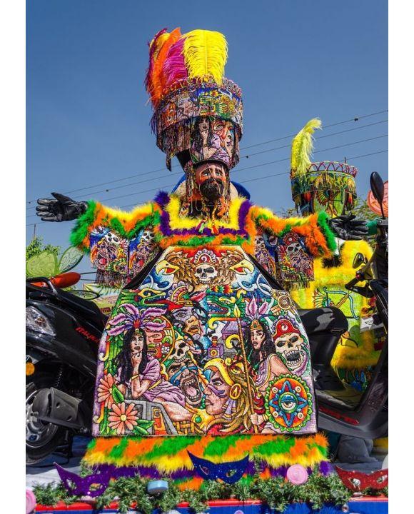 Lais Puzzle - Chinelos, Karneval Yautepec Morelos, Mexiko - 500 & 1.000 Teile