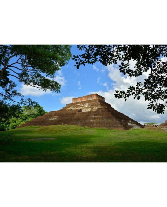Lais Puzzle - Maya-Tempel 1 in Comalcalco, Mexiko - 500 & 1.000 Teile