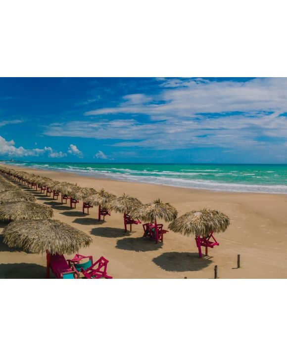 Lais Puzzle - Miramar Strand von Ciudad Madero Tamaulipas, Mexiko - 500 & 1.000 Teile