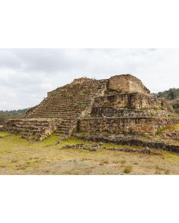 Lais Puzzle - Ruinen der prähispanischen Stadt Cacaxtla, Mexiko - 500 & 1.000 Teile