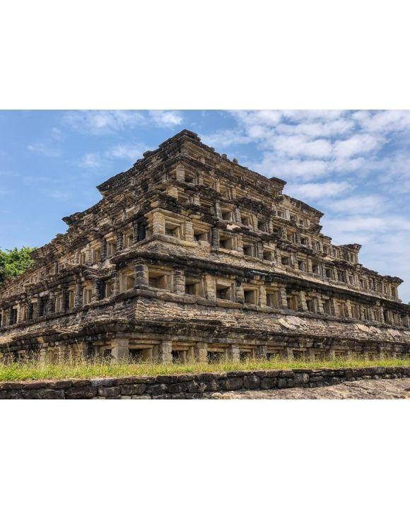 Lais Puzzle - Pyramide der Nischen, Veracruz, Mexiko - 500 & 1.000 Teile