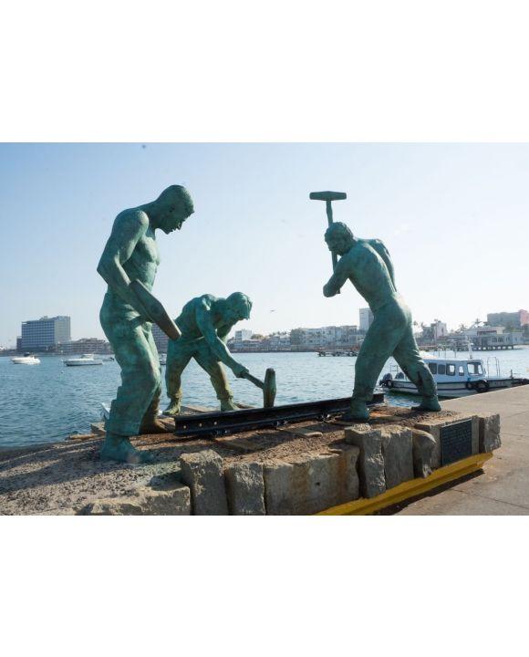 Lais Puzzle - Veracruz, Mexiko, Hafen Malecon - 500 & 1.000 Teile
