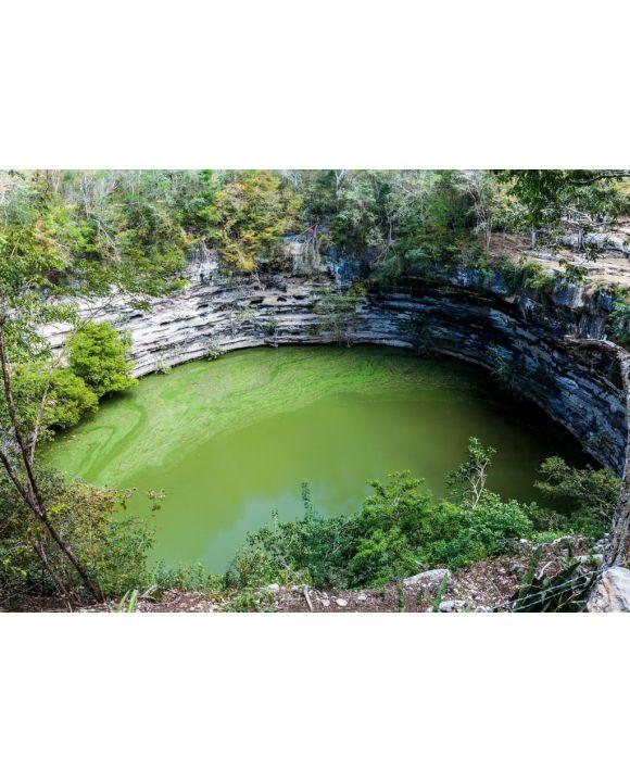 Lais Puzzle - Heilige Cenote an der archäologischen Stätte Chichen Itza, Mexiko - 500 & 1.000 Teile