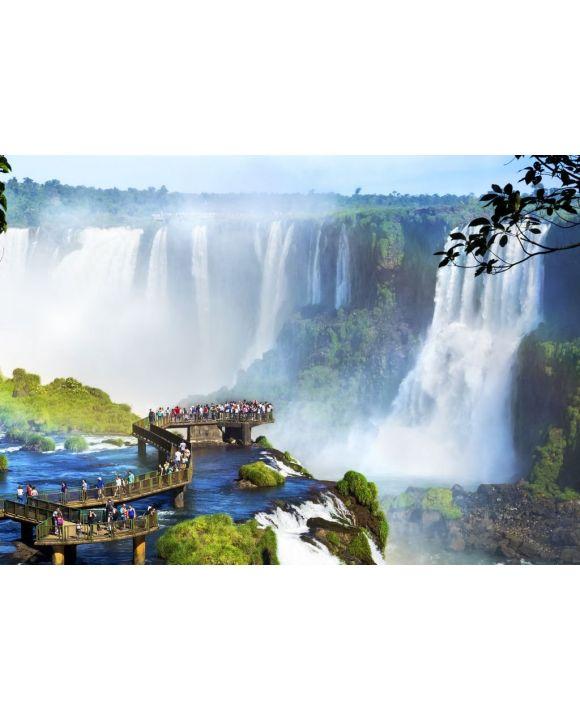 Lais Puzzle - Iguazu Falls, an der Grenze zwischen Argentinien und Brasilien - 500 & 1.000 Teile
