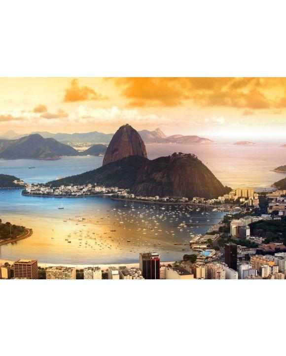 Lais Puzzle - Rio De Janeiro, Brasilien in der Dämmerung - 500 & 1.000 Teile