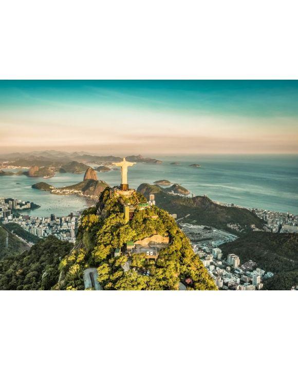 Lais Puzzle - Luftaufnahme der Botafogo-Bucht aus hohem Winkel, Rio de Janeiro - 500 & 1.000 Teile