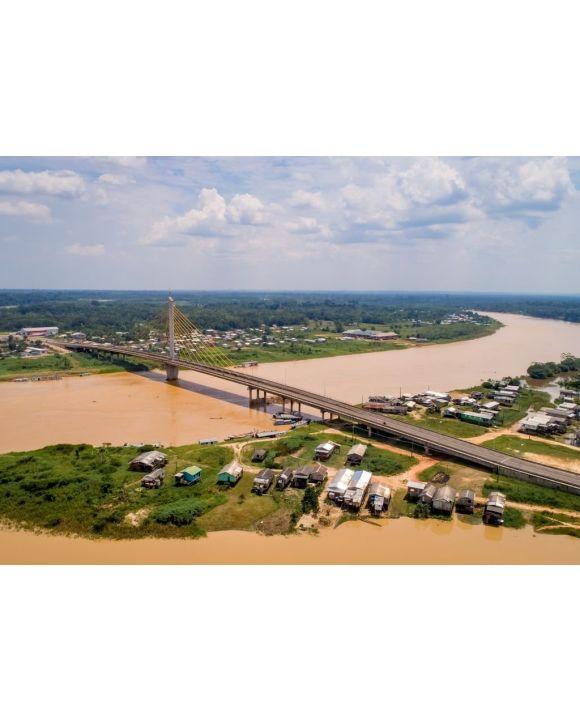 Lais Puzzle - Brücke über den Fluss Juruá, Brasilien - 500 & 1.000 Teile