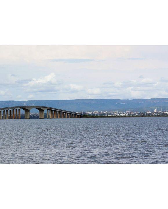 Lais Puzzle - Brücke über den Fluss Tocantins, wo Palmas die Hauptstadt des Bundesstaates ist, Brasilien - 500 & 1.000 Teile