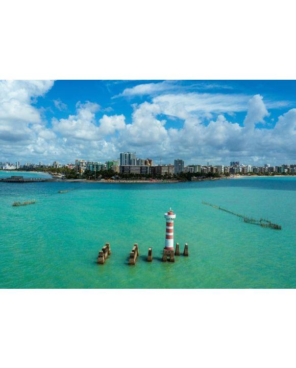 Lais Puzzle - Panoramablick auf Meer und Gebäude gegen Himmel, Brasilien - 500 & 1.000 Teile