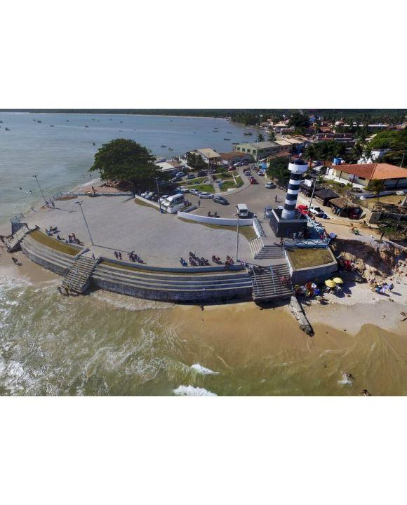 Lais Puzzle - Luftbild von Pontal do Coruripe, Alagoas, Brasilien - 500 & 1.000 Teile