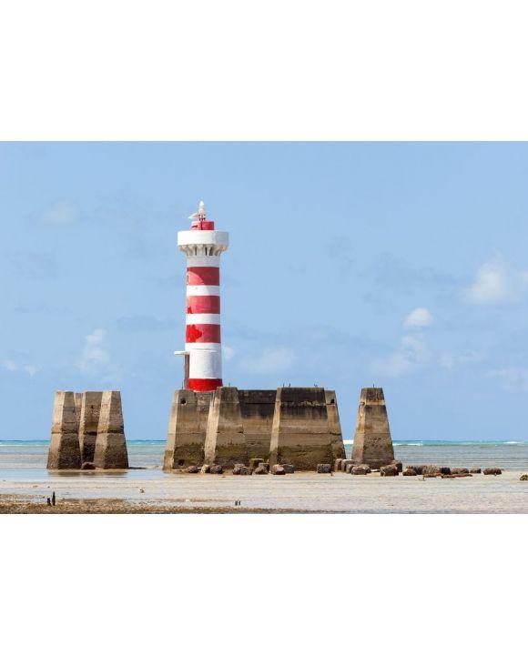 Lais Puzzle - Leuchtturm Ponta Verde bei Maceio, Alagoas, Nordosten von Brasilien - 500 & 1.000 Teile