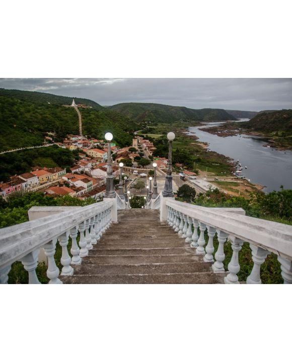 Lais Puzzle - Landschaften der Stadt PIranhas, wo der San Francisco River fließt. Piranhas, Alagoas, Brasilien - 500 & 1.000 Teile