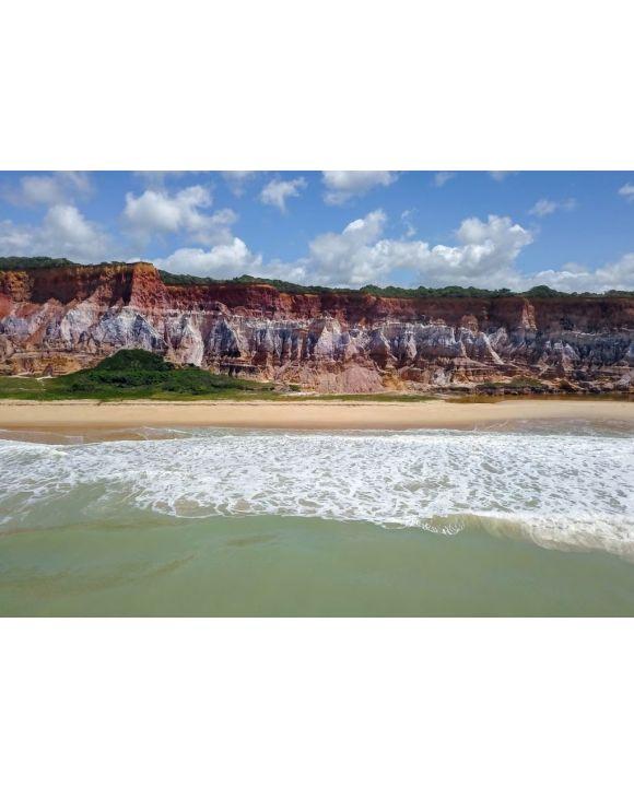 Lais Puzzle - Klippen am Strand von Gunga, Bundesstaat Alagoas, Brasilien - 500 & 1.000 Teile