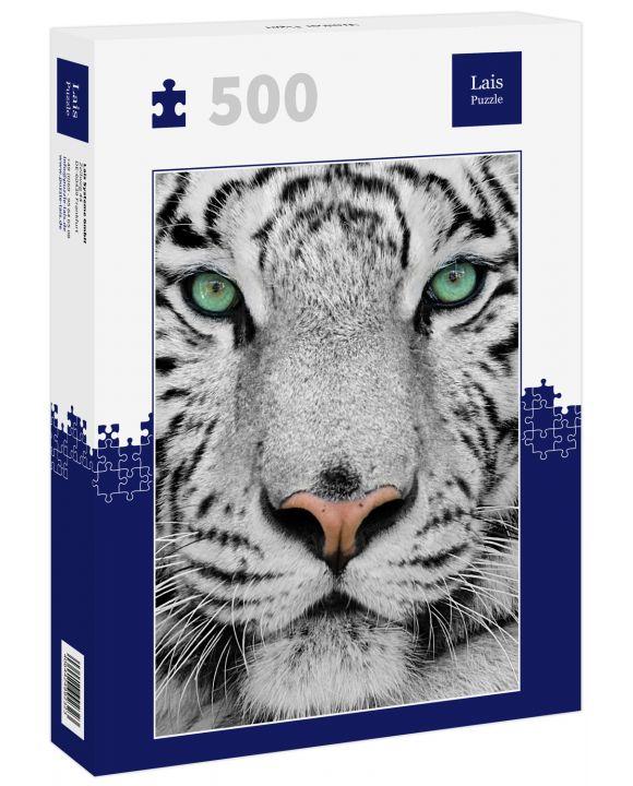 Lais Puzzle - Weißer Tiger - 500 Teile