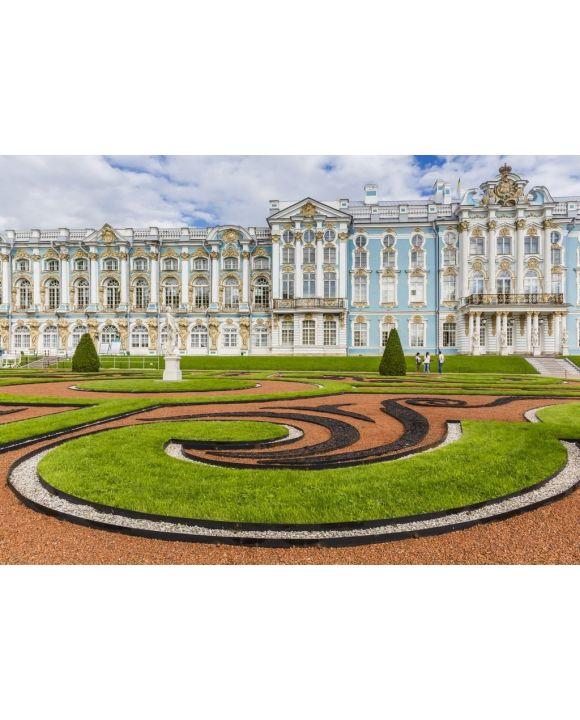 Lais Puzzle - Gärten im französischen Stil im Katharinenpalast, Zarskoje Selo, St. Petersburg, Russland - 500 & 1.000 Teile
