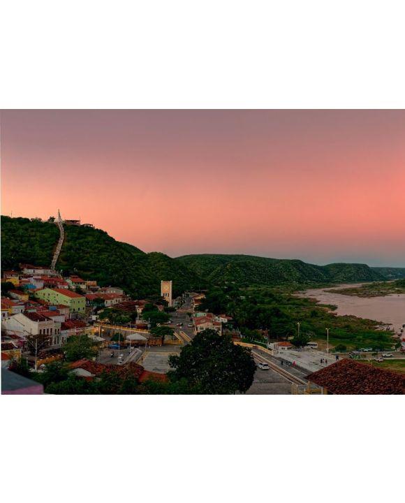 Lais Puzzle - Blick auf die Stadt Piranhas Alagoas Brasilien Sertão Fluss São Francisco - 500 & 1.000 Teile