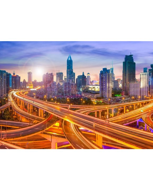 Lais Puzzle - Skyline Shanghai, China - 500 & 1.000 Teile