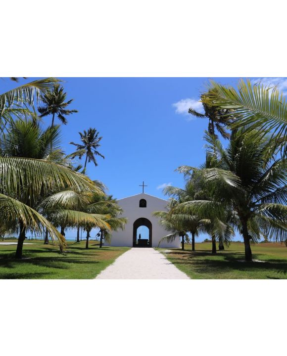 Lais Puzzle - Kapelle der Wunder in Sao Miguel dos Milagres, Alagoas, Brasilien - 500 & 1.000 Teile