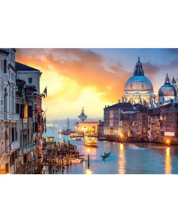 Lais Puzzle - Venedig bei Sonnenuntergang - 500 & 1.000 Teile