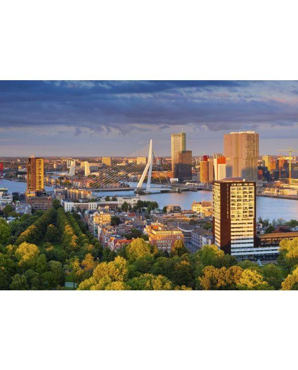 Lais Puzzle - Rotterdam im Sonnenuntergang - 500 & 1.000 Teile