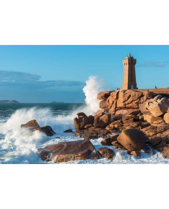 Lais Puzzle - Leuchtturm von Ploumanach, Perros-Guirec, Bretagne - 500 & 1.000 Teile