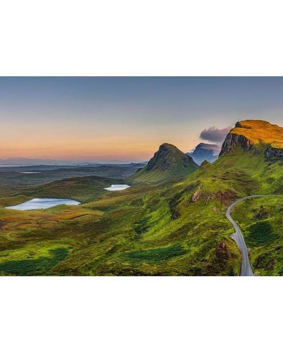 Lais Puzzle - Quiraing Berge Sonnenuntergang auf Isle of Skye, Schottland - 500 & 1.000 Teile