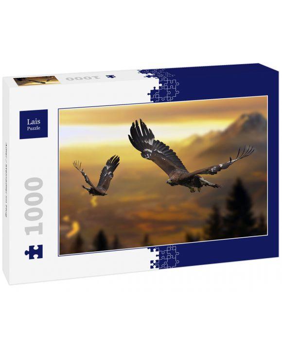 Lais Puzzle - Adler / Steinadler im Flug - 1.000 Teile