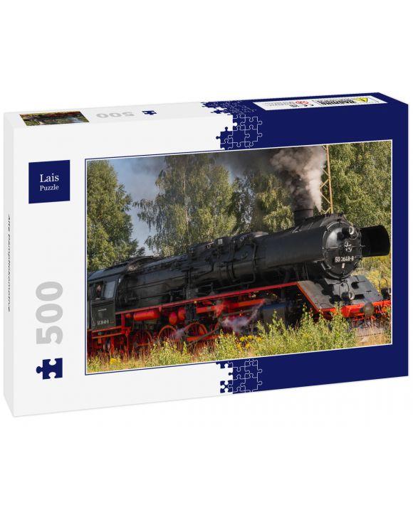 Lais Puzzle - Alte Dampflokomotive - 500 Teile